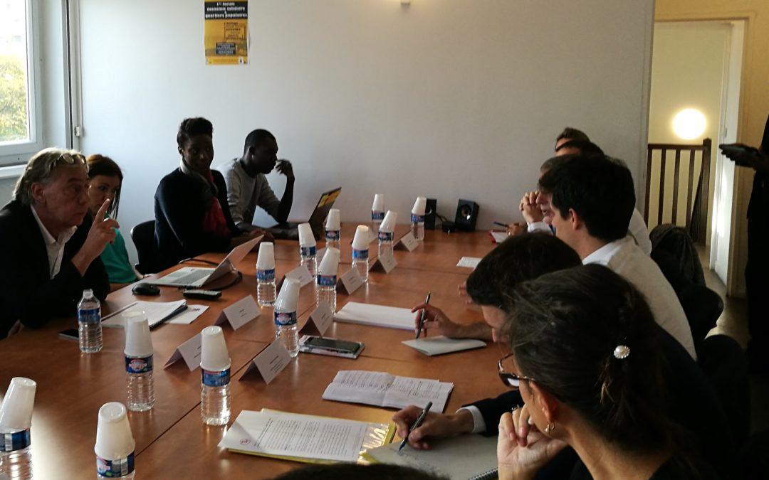 LePoleS reçoit Julien Denormandie, Secrétaire d'Etat auprès du Ministre de la Cohésion des Territoires
